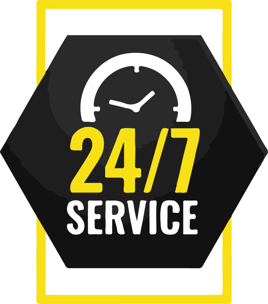 24-hour-service-banner-with-clock-design